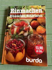 Kochbuch - Einmachen Einkochen Einfrieren