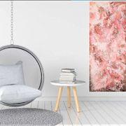 Wandbild Abstraktes Acrylbild auf Leinwand