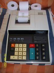 Tischrechner Rechenmaschine Triumph Adler 121
