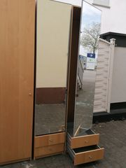Kleiderschrank 3teilig mit Spiegeltüren