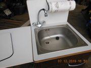 Edelstahlspüle Küche 1 Becken Spültisch