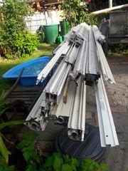 Verkaufe gebrauchte Aluminiumprofile