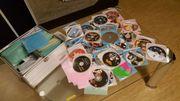 CD Koffer mit DVD Filmen