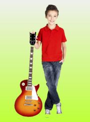Gitarreunterrich im Raum
