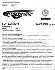 NITROLYMPIX 2019 Sonntagsticket überdacht direkt
