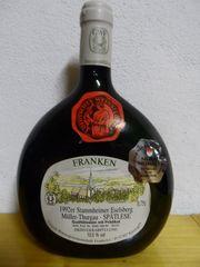Boxbeutel Wein Flasche - 1992 Stammheimer Eselsberg