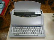 elektr Reise-Schreibmaschine Olivetti linea