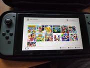 Nintendo Switch mit 13 Spielen