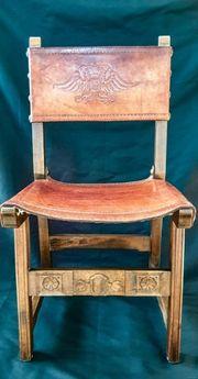 alter Spanischer Stuhl antik