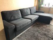 Verkaufe dunkelgraues Stoffsofa von Kivik-Ikea