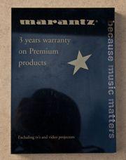 Marantz Werbeartikel Schilder 1 Stück