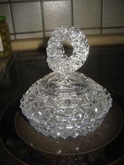 Kristall-Glas Schale Bonbonglas Glasschale mit