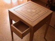 Schach und Mühle Tisch