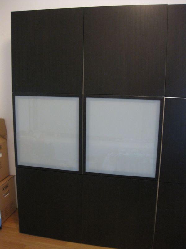 Besta Türen ikea besta schrank mit 6 türen 1 20 m breit knapp 2 m hoch in