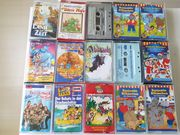 Kinder Kasseten und CD s