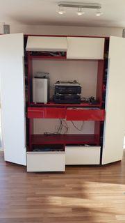 Wandschrank TV und Musikanlage- Schrank