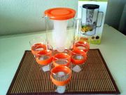 Getränke Set Glas
