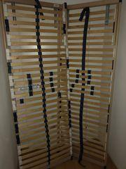 2x Lattenrost 70x140 Kopfteil einstellbar
