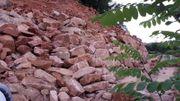 Sandstein Findlinge