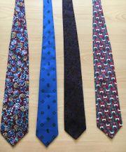 Weihnachtsgeschenk Tolle Krawatten - neu - 100