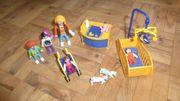 Playmobil Kinderzimmer und Personen