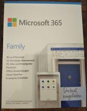 Microsoft Family 365 Lizenz - bis