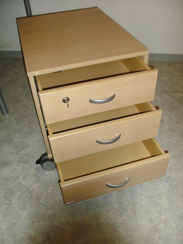 Rollcontainer Schreibtischcontainer PAIDI Schublade Ablage Tisch in ...