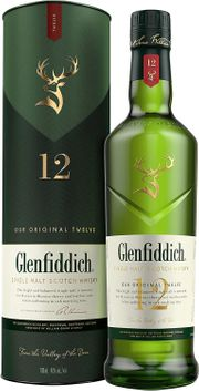 Whisky Glenfiddich 12 Jahre Single