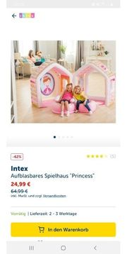 Intex Spielhaus mit Zubehör zum