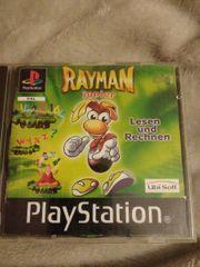 PS1 Rayman junior