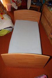 Baby- Kinderbett Massivholz Buche