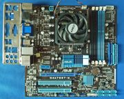 Mainboard-CPU-Bundle ASUS M4A785T-M AMD Athlon