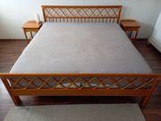 Doppelbett Bambusoptik zu verkaufen