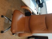 Schreibtisch groß 200x100 cm Chefsessel