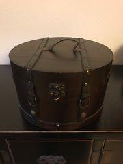 Hutkoffer-Hutschachtel Vintage braun