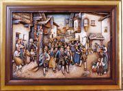Relief - Wandbild Oswald Demetz Deur