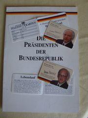 Telefonkarten Präsidenten der BRD Herzog