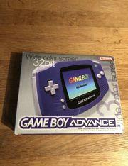 Gameboy Advance mit OVP
