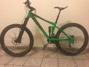 Fahrrad Mountainbike Cube stereo 140