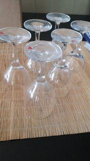 6 Wassergläser