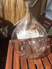 Weinballon Gasbehälter