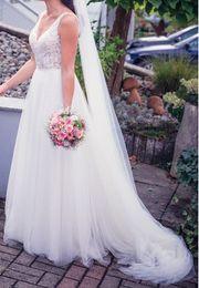 Hochzeitskleid Brautkleid Ladybird Gr 36