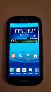 Samsung Galaxy S3 GT-I9300 blau