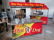 Mobiler Verkaufswagen hot dog