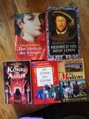 5 Bücher mit historischen Inhalt