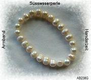 Edelsteinschmuck Perlenarmband