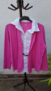 Sommerlicher Cardigan in Pink u