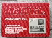 HAMA Videoscript 50