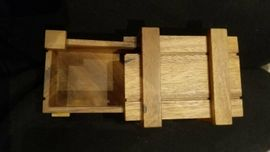 Holz Geschenkbox Geschick Party Geburtstag: Kleinanzeigen aus Verl - Rubrik Holzspielzeug
