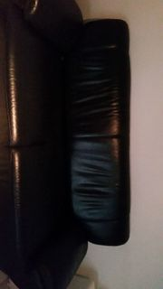Echtes Leder Sofa
